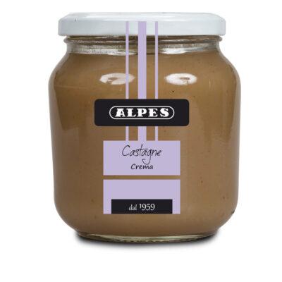 Crema di castagne Alpes