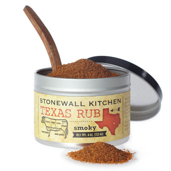 Texas rub Stonewall Kitchen Alpes